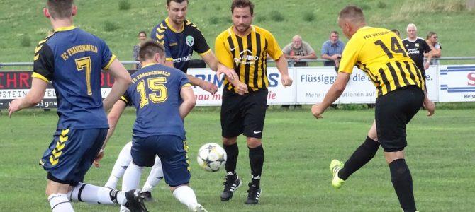 FSV Viktoria Hof — FC Frankenwald